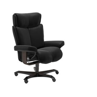Stressless Magic Office Chair, Choice of Paloma Leathers