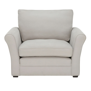 Berkeley Fabric Fixed Cover Snuggle Chair