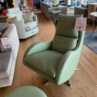 Lenny Swivel Chair And Stool