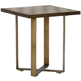 Facet Lamp Table