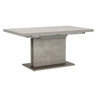 Halmstad Extending Dining Table, Concrete