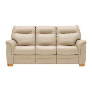 Parker Knoll Hudson 3 Seater Sofa, Leather