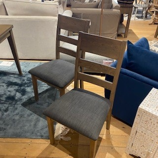 Ibex Dining Chairs, Burnt Oak, Priced Each
