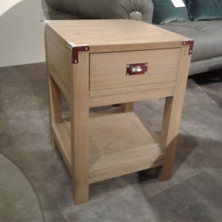 Military Lamp Table