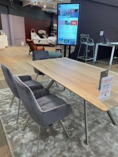Felser Ext Table + 3 Chairs