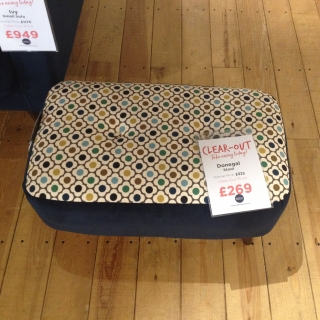 Donegal Small Stool
