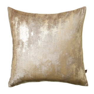 Abstract Champagne Cushion