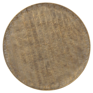 Wall Disc, Antique Gold