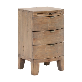 Rye Reclaimed Wood Bedside Chest