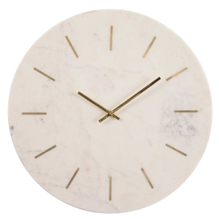 Brass and Marble Clock