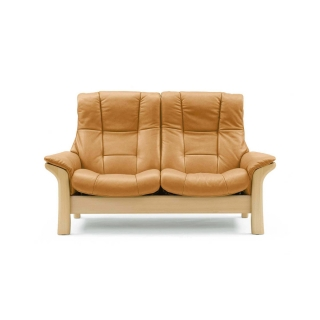 Stressless Buckingham High Back 2 Seater, Choice of Leather