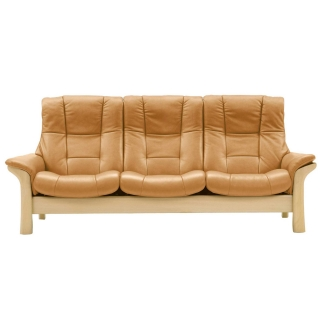 Stressless Buckingham High Back 3 Seater, Choice of Leather