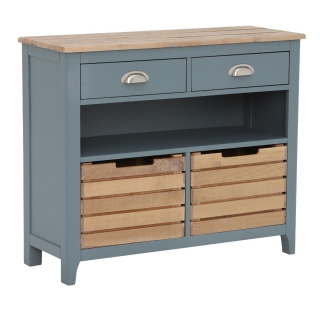 Craster Console Table, French Grey