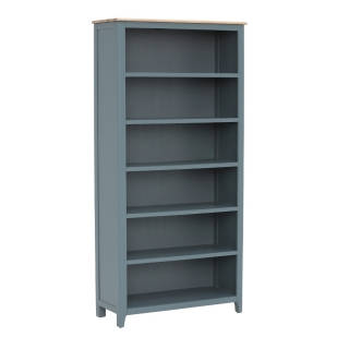 Craster Tall Bookcase, French Grey