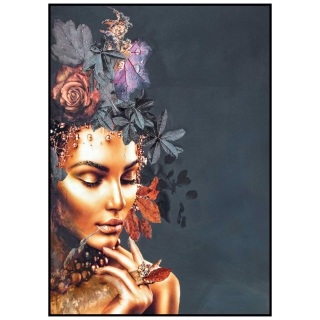 Couture Encounter Framed Print