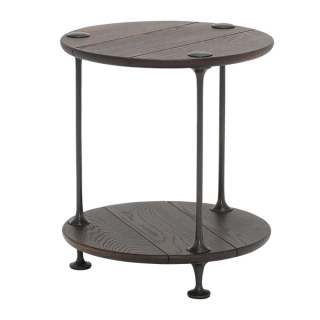 Chandra Round End Table