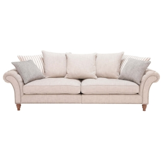Craven Grand Sofa With Studs