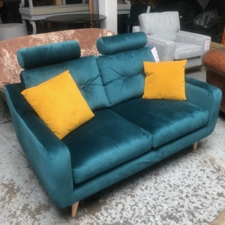 Myers Small Sofa With Headrests