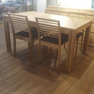 Olso Extending Dining Table & 4 X Chairs