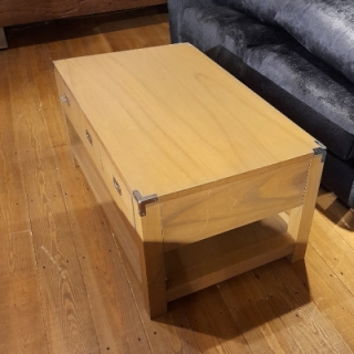 Military Coffee Table With Drawers