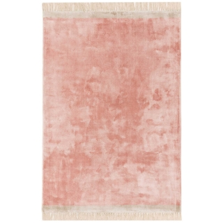Elgin Rug, Pink and Silver