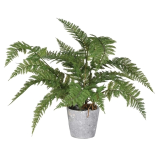 Large Faux Fern Potted Plant