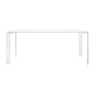 Kartell Outdoor Four Dining Table, White on White