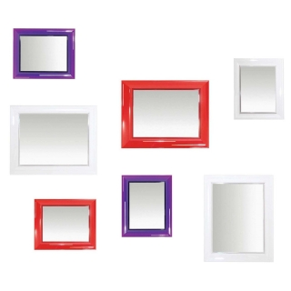 Kartell Francois Ghost Mirror, Choice of colours