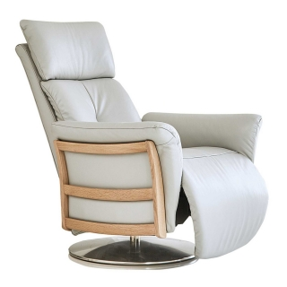 Ercol Ginosa Recliner Chair, Leather