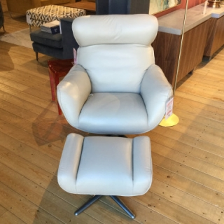 Swivel Chair And Footstool