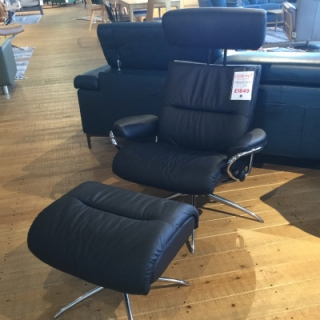 Tokyo Chair And Footstool