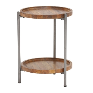 Heartwood Round Side Table