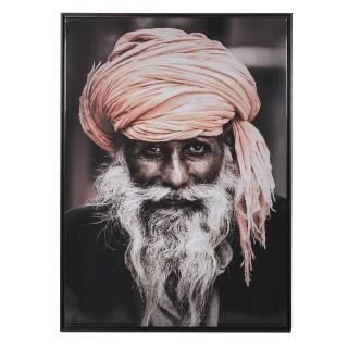 Indian Man Framed Picture