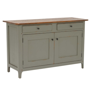 Maison 2 Door 2 Drawer Small Sideboard, Albany and Moss Grey