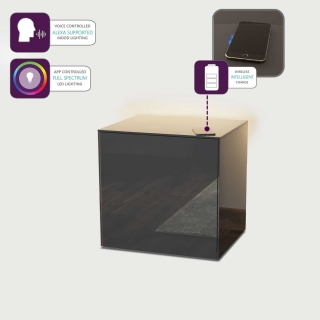 Intelligent Lamp Table With Wireless Phone Charging, Choice Of Colour