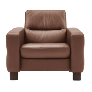Stressless Wave Low Back Chair, Leather