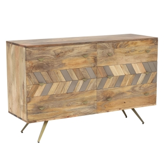 Leif 6 Drawer Wide Chest