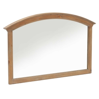 Lewes Reclaimed Wood Wall Mirror, Wheat