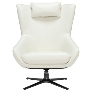 Laurino Leather Swivel Chair