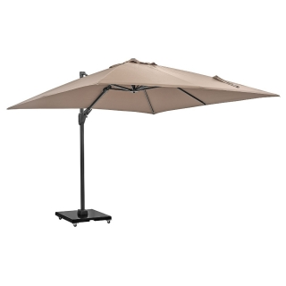 Lux LED Parasol, Taupe