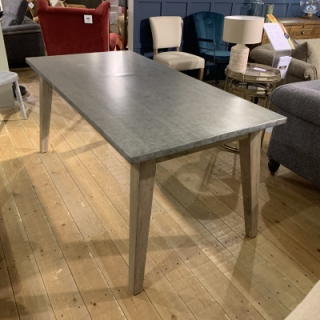 Dining Table With Tin Top