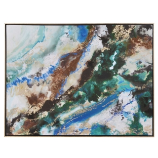 Marble Abstract Painting, Multi
