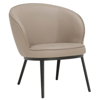 Quebec Lounge Chair, Taupe