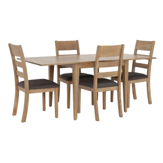 Ibex Flip Top Table and 4 Ibex Chairs