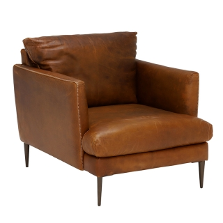 New Acacia Leather Chair