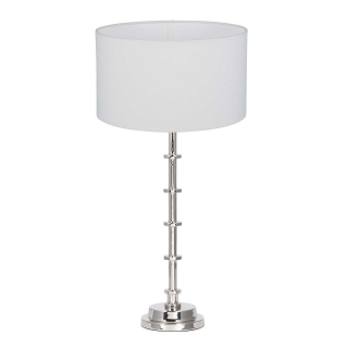 Silver Tier Table Lamp