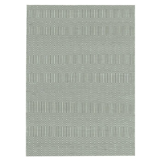 Twine Cotton and Wool Rug, Duck Egg