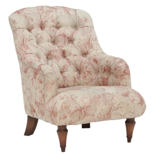 Drew Pritchard Stowe Button Back Chair