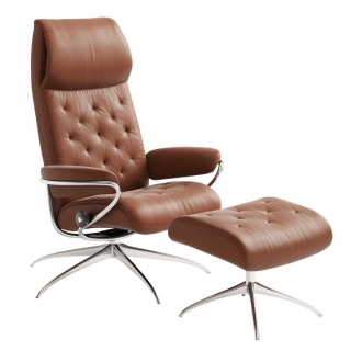 Stressless Metro Chair & Stool, Choice of Leather