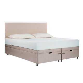 Tempur Ardennes Ottoman Bed Base, Biscuit